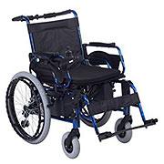 互邦 HBLD2-A22电动轮椅 可折叠 手推电动两用 后大轮22寸
