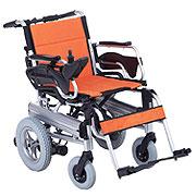 互邦HBLD3-B 锂电池 轻便折叠 铝合金电动轮椅