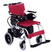 互邦电动轮椅HBLD1-A可折叠 万向控制器 靠背可折翻