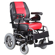 康扬 KP-10.2电动轮椅 整车原装进口 经济型轮椅 适合狭小空间使用